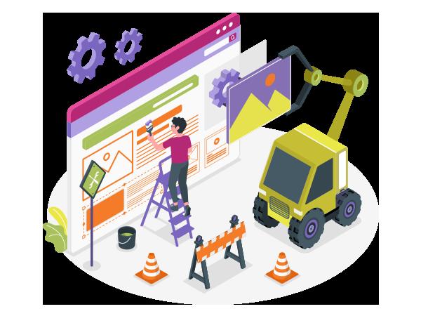 خدمات پشتیبانی و نگهداری وب سایت