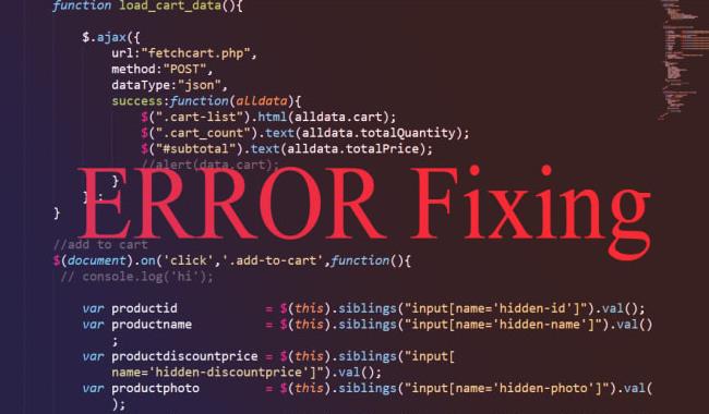 رفع خطاهای HTML ، PHP و JavaScript